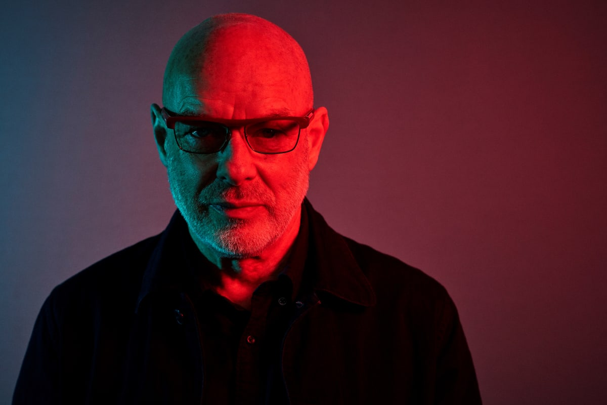 Brian Eno Releasing Career-Spanning Collection Of Tracks From Movie & TV Scores 'Film Music 1976 – 2020'