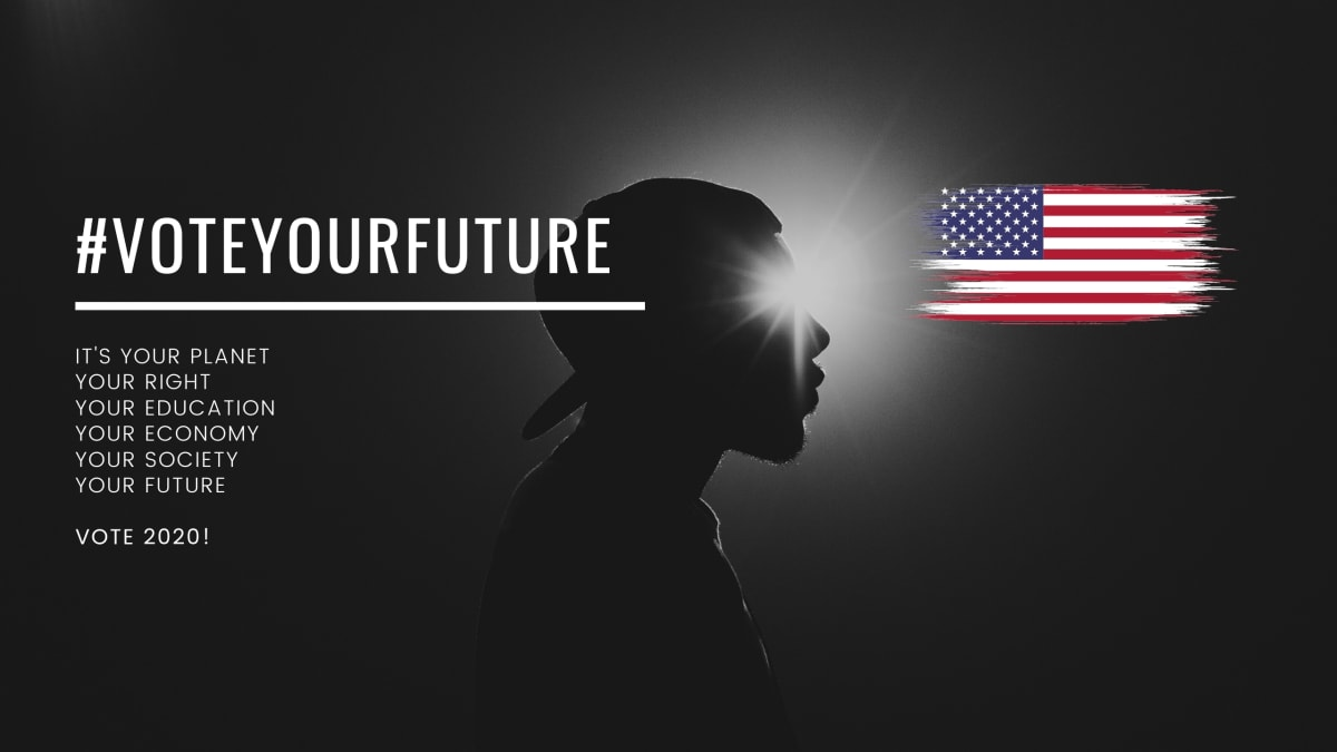 Today is National Voter Registration Day! Get On It - #VoteYourFuture