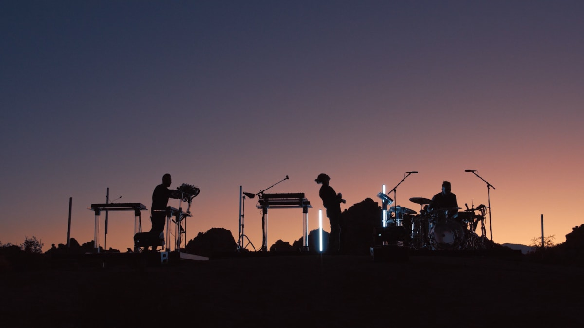 "RÜFÜS DU SOL Detail Live Album 'Live From Joshua Tree,' Share Video For ""Solace"""