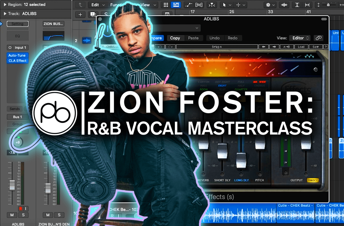 """Spotlight: Zion Foster Shares the Secrets Behind His Vocals On R&B Track """"POWER"""" for Point Blank"""