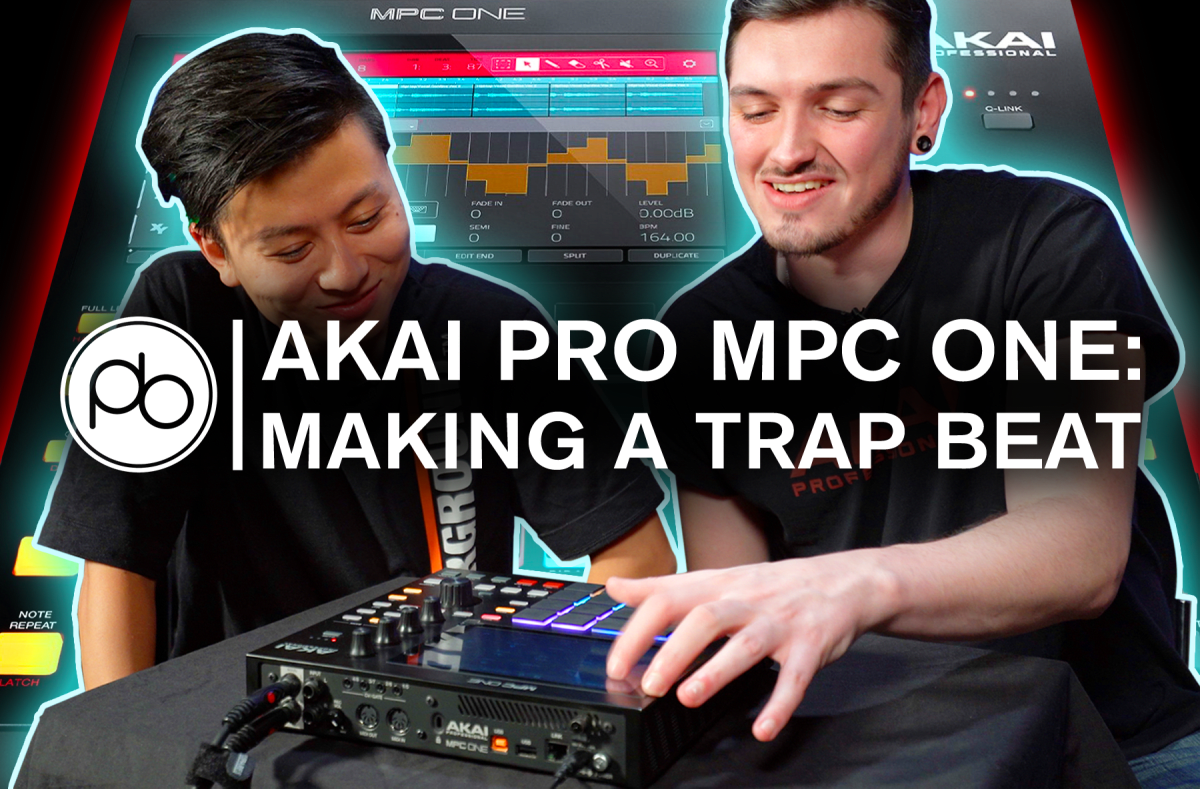 Spotlight: AKAI Pro MPC One: How to Make a Trap Beat in 10 Minutes with Point Blank