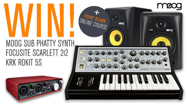 Win a Moog Minitaur Synth + Point Blank Online Course Worth Over