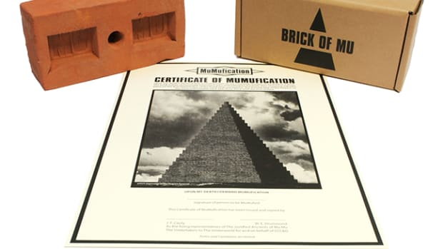 The KLF Human Ashes Pryamid