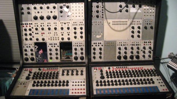 Buchla 100 Modular Synth