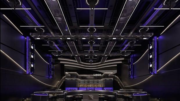 Nebula Nightclub Rendering Main Floor