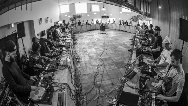 Watch the World's Biggest Scratch Session with 40 DJs