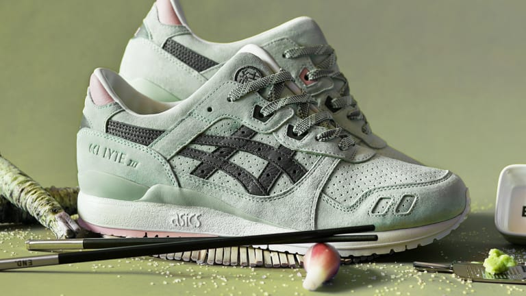 END. x Asics Tiger Gel Lyte III 'Wasabi' Pack