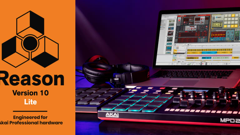 Akai Professional & Propellerhead Software Release Reason Lite for Akai Pro Controllers