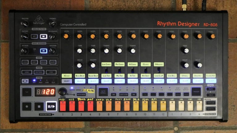 Behringer Showcases RD-808 Prototype Drum Machine at Sonic State, a Clone of the Classic TR-808