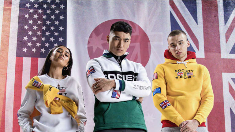 Society Sport USA Debut New Collection Inspired By 90's Sportswear, Street Culture