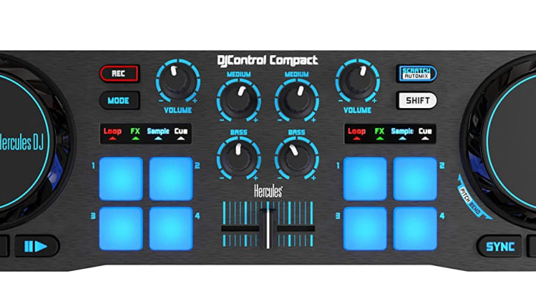 Review: Hercules DJControl Compact: The Perfect Amateur DJ Controller?