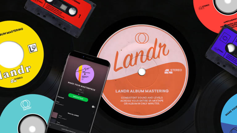 LANDR Launches Album Mastering