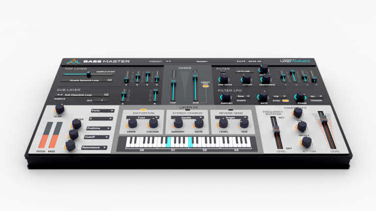 Loopmasters Unveils Bass Master Synth