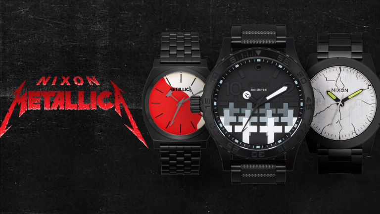 Nixon & Metallica Collaborate On 9 New Watches For Newest Collaboration