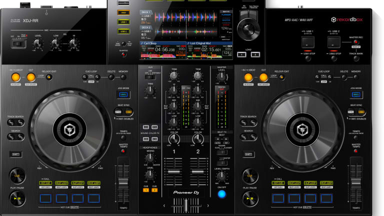 Pioneer DJ Launches XDJ-RR All-In-One Rekordbox Controller