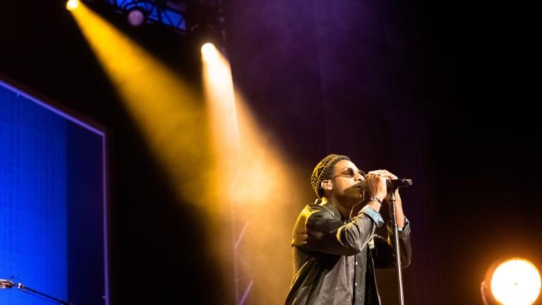 Photo Gallery: Leon Bridges & Masego At The Greek Theatre Berkeley 9/7/18