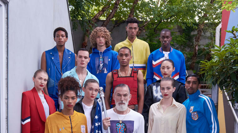 Christopher Lowman Triumphantly Returns With The Glorious Olympics Ss19 Inspired Collection