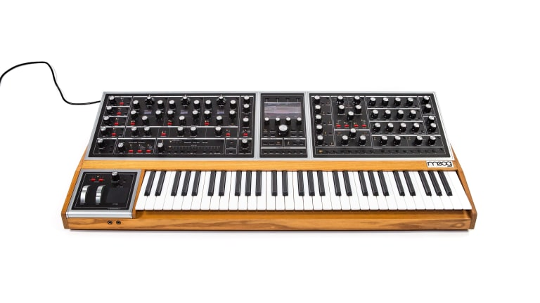 Moog Officially Announces 'One' Polysynth