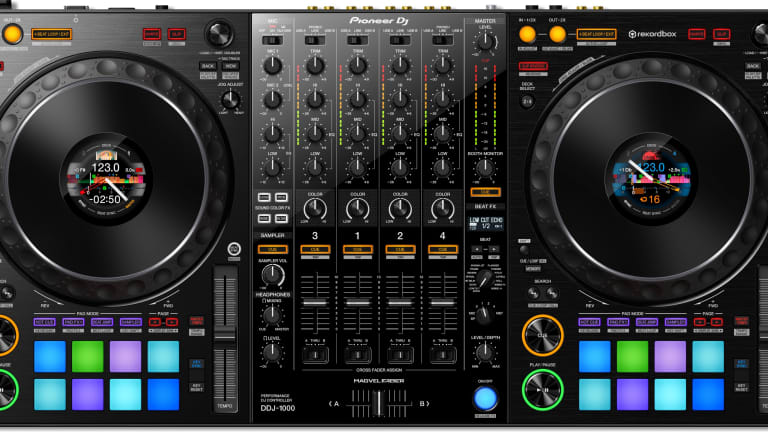 Pioneer DJ Unveils Brand New All-In-One DDJ-1000 Controller
