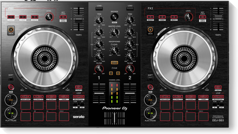 Pioneer & DJ Jazzy Jeff Partner for New DDJ-SB3 Controller with Pad Scratch Feature