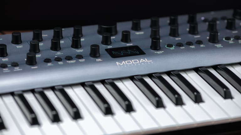 Modal Electronics Announces Argon8 Wavetable Synth
