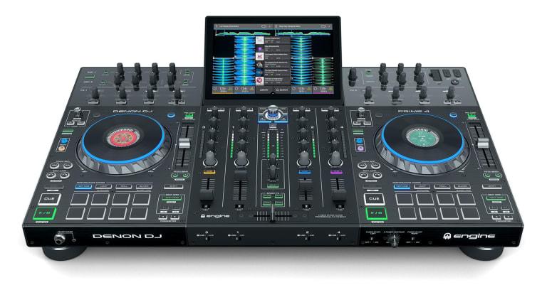 NAMM 2019 News: Denon Announces Prime 4, 4-Deck Standalone DJ System