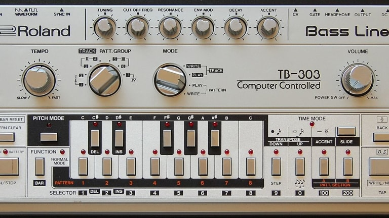 Roland Adds TB-303 To Cloud Software