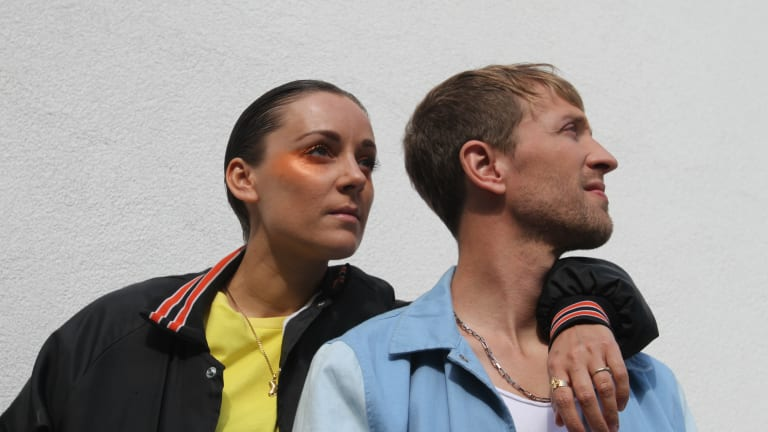 """French Synth-Pop Duo Caspian Pool Take Over Industrial Berlin In Visual for """"B.I.T.U"""""""