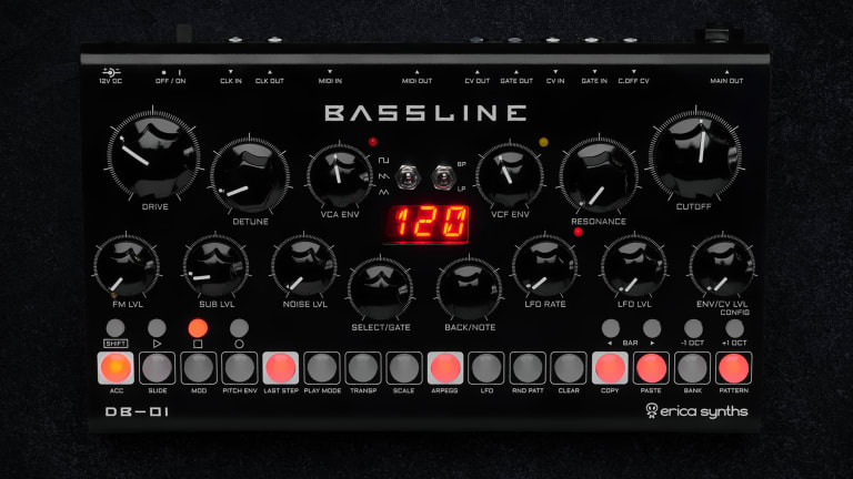 Review: Erica Synths Bassline DB-01