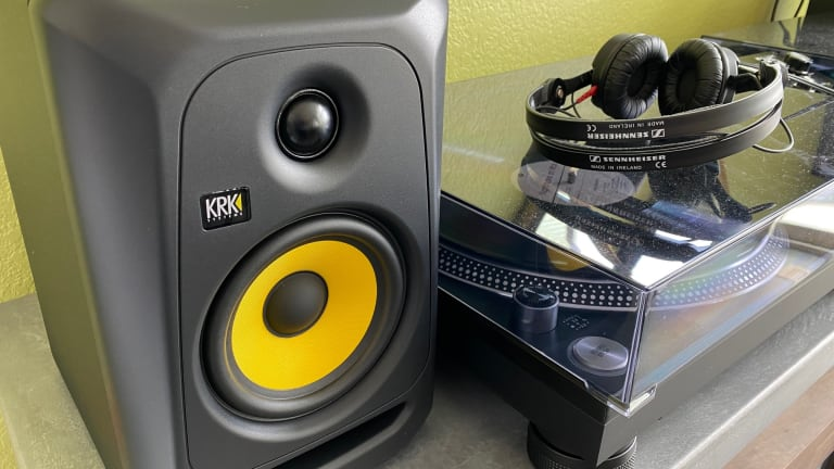 The Krk Classic 5 Monitors Perfect For The Bedroom Dj And Budding Producer On A Budget Magnetic Magazine