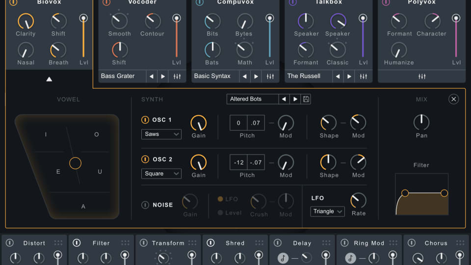 iZotope's VocalSynth 2 is an Impressive Vocoder Among Other Processes [Review]