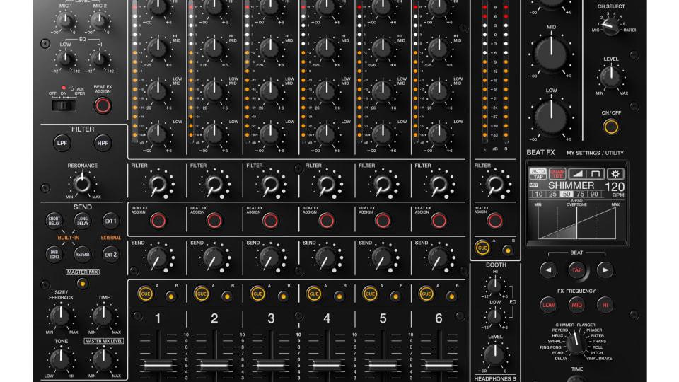 NAMM 2020: Pioneer DJ Announces DJM-V10 Mixer