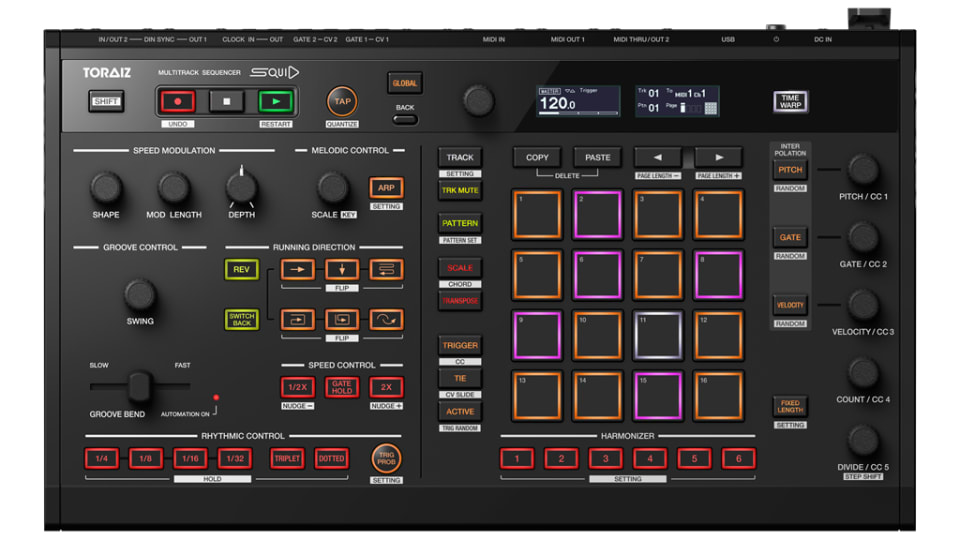 Review: Pioneer Dj Toraiz Squid Sequencer
