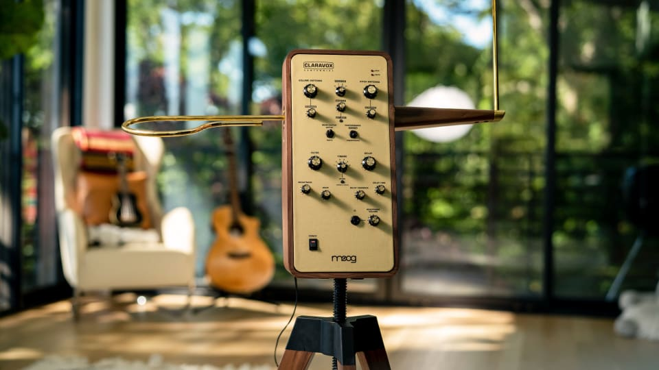 Moog Unveils Limited Run Claravox Centennial Theremin To Celebrate Instrument's 100-Year Anniversary