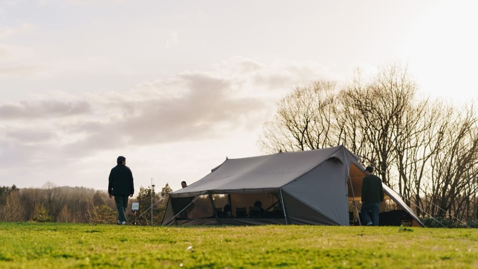 Snow Peak Launches Living Lodge Tent & Shelter Hybrid
