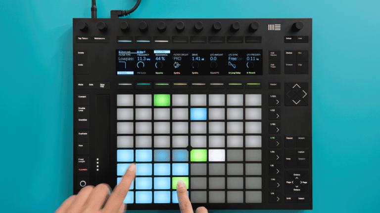 """Classic Track - """"Music Sounds Better With You"""" Ableton Push 2 Deconstruction"""