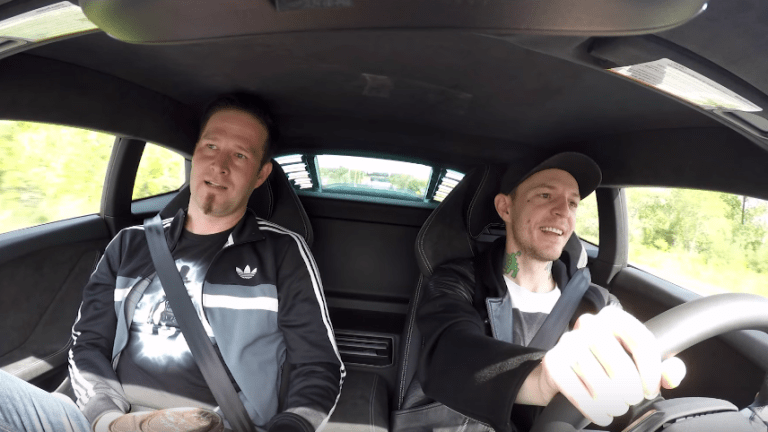 Deadmau5 Takes Darude on a Coffee Run