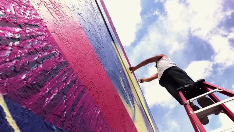 Video Exclusive: Fluke And His Revolutionary Graffiti Process