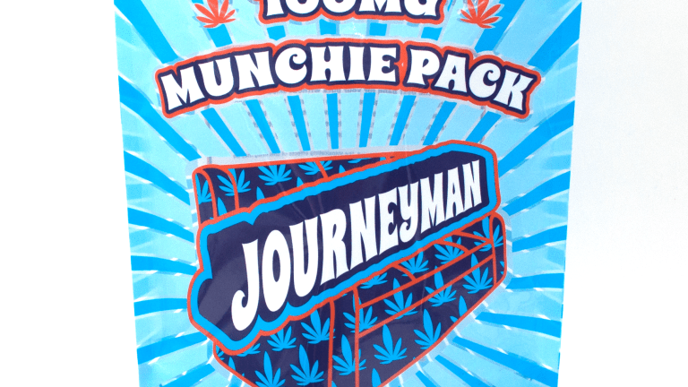 New Journeyman Munchie Pack Edibles Celebrate in Happy Writer's Stomach