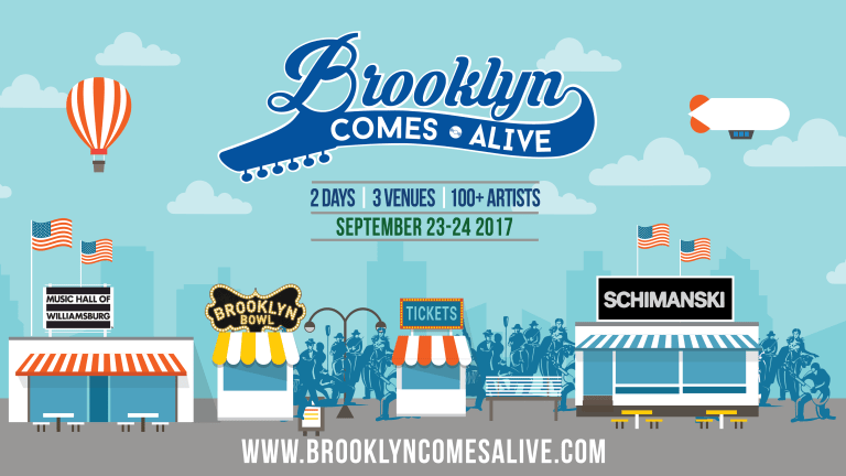 Brooklyn Comes Alive This September - Win Tickets And Crank Up Our Pre Fest Playlist