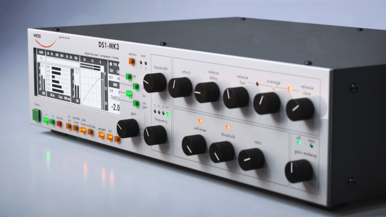 Softube & Weiss Team Up for Re-Creation of DS1-Mk3 Mastering Compressor