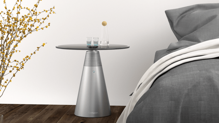 Meet the CoolGeek Soundesk – A Modern Table With Wireless Surround Sound Audio