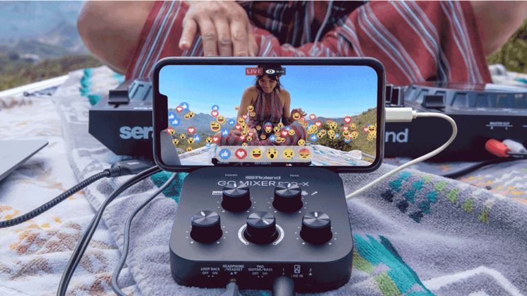 Meet The New Roland GO:Mixer Pro-X - A Truly Portable and Powerful Audio Mixer For Smartphones