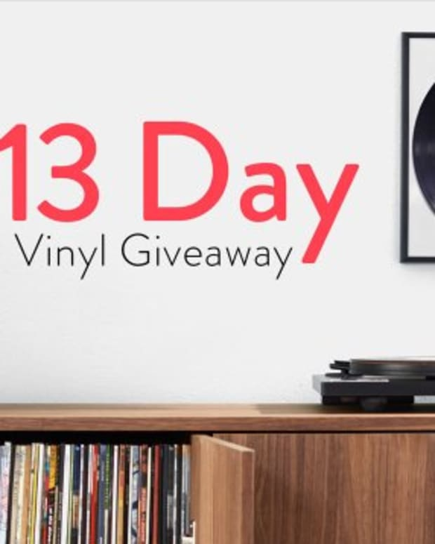 amazon vinyl giveaway