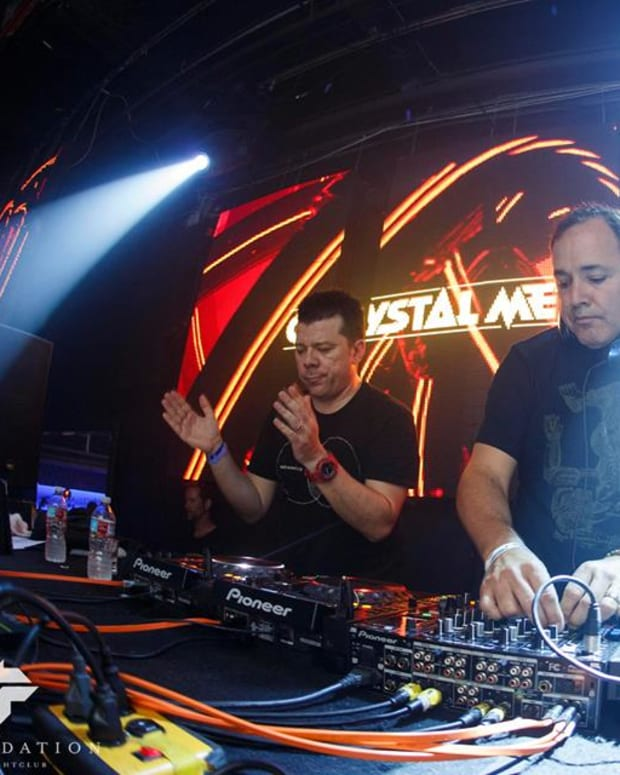 The Crystal Method live