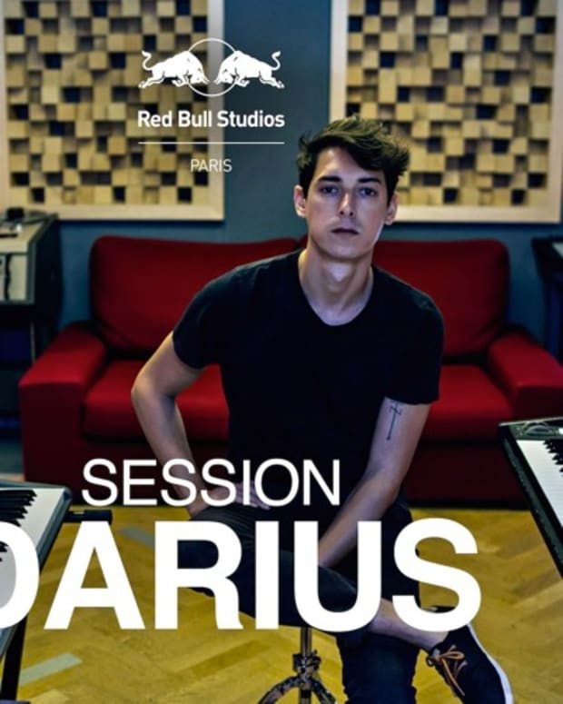 Darius Red Bull Studios Paris
