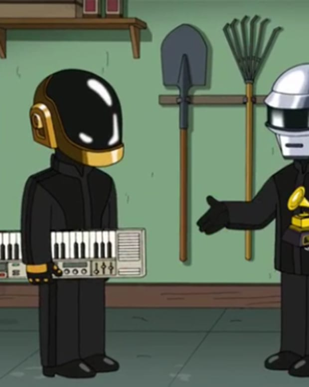 daft punk family guy