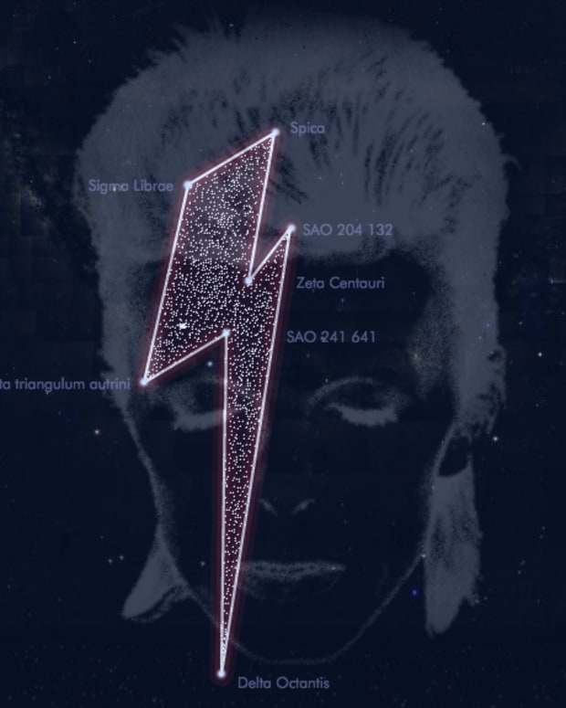 david bowie starman constellation