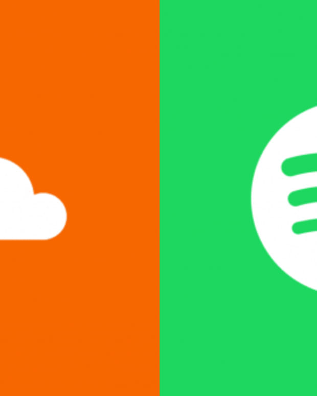 spotify vs. soundcloud