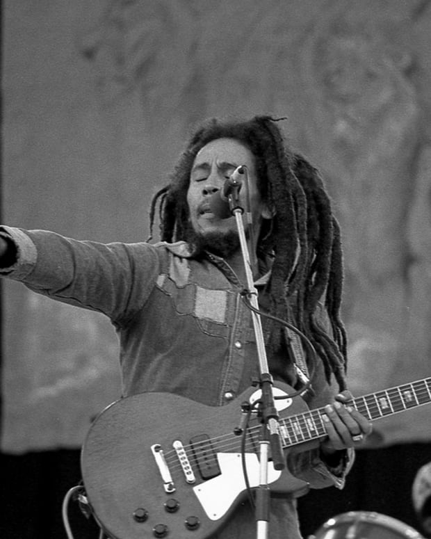 Bob Marley (photo by Eddie Mallin)